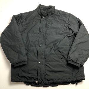 L.L. Bean Puffer Jacket Winter Mens Black XL Tall